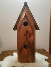 Handmade Wooden Bird house Hand Made