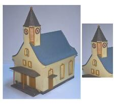 CHIESA di MONTAGNA ILLUMINABILE con CAMPANILE e OROLOGIO CHURCH MOUNTAIN SCALA-N