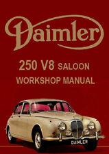 DAIMLER 250 V8 SALOON WORKSHOP MANUAL