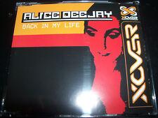 Alice Deejay Back In My Life / Better Off Alone Australian Remixes CD Single
