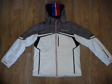 COLMAR SIGNATURE MEN'S WHITE Ski Jacket Waterproof Recco Breathable - 52 L Large