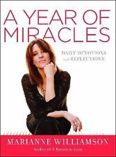 Marianne Williamson: A Year of Miracles: Daily Devotions and Reflections NEW