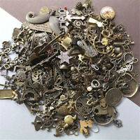 DIY 50g Mixed Tibetan Antique Silver Charms Beads Pendants Jewelry Making Craft