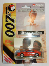 Corgi James Bond 007 per Your Eyes Only Lotus Rosso collezionista Card Rif.