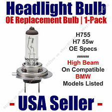 Headlight Bulb High Beam OE Replacement 1pk Fits Listed BMW Models - H7 55