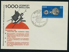 GERMANY EAST DDR 1979 1000 Kosmos Satelites Space Cover Berlin SHS