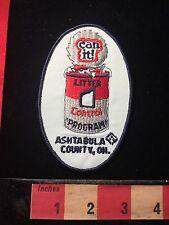 Ashtabula County Ohio Can It Litter Control Program Patch Environment Green 60E6