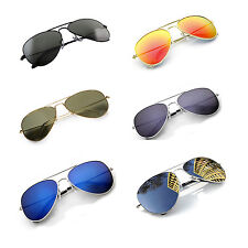 New PIlot Sunglasses Fashion 80s Mens Womens Ladies Retro Designer Shades UV