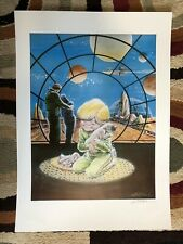 WILL EISNER Signed Lithograph 377/1000 Boy Dreaming Space
