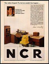 1964 NCR Old Cash register Giant Tiger Store Cleveland Ohio Vintage Print Ad