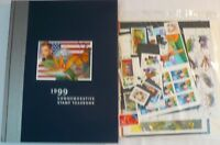 Sealed 1999 Commemorative Stamp Yearbook USPS Souvenir Mint Set with Stamps