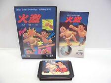 Mega-Drive Genesis -- KA GE KI -- Boxed. JAPAN GAME. Clean & Work fully!!