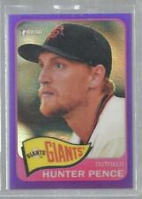 2014 Topps Heritage Chrome Purple Refractors #479 Hunter Pence (ref44093)