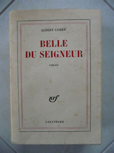 ALBERT COHEN / BELLE DU SEIGNEUR - Édition Originale Gallimard 1968