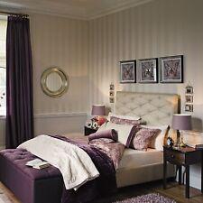 Laura Ashley Lille Stripe Linen Wallpaper Same Batch Several Available