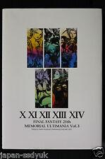 JAPAN Final Fantasy 25th Memorial Ultimania Vol.3