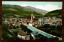 BRIXEN ITALY Dr. Weber's Alps Tea Advertising Postcard ca.1907