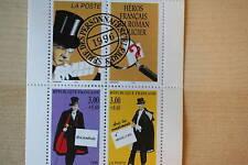 CARNET DE TIMBRES PERSONNAGES CELEBRES 1996 ROMAN - FACIALE 18 FF