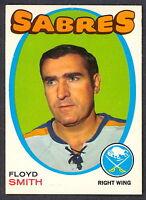 1971 72 OPC O PEE CHEE 158 FLOYD SMITH NM BUFFALO SABRES HOCKEY CARD
