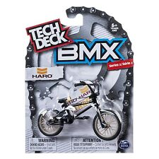 New 2016 Tech Deck BMX FINGER BIKES Series 2 HARO Flick Tricks Black Bike