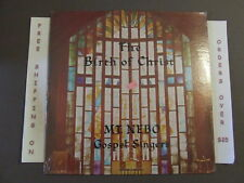 SEALED MT. NEBO GOSPEL SINGERS THE BIRTH OF CHRIST LP MARYLAND PRIVATE PRESS
