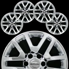 "4 CHROME fit 2014-2020 Nissan Frontier 16"" Wheel Skins Hub Caps Alloy Rim Covers"