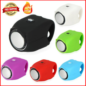 Bicycle Electric Bells Bike Ring Electronic Horn Loud Alarm Rainproof Super Horn