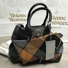 BNWT Vivienne Westwood INVERNALE TARTAN firma Bowling Bag Prezzo Consigliato € 420 100% AUTENTICO