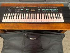 Vintage Yamaha Dx27S 61-KeyDigital Programmable Algorithm Synthesizer &Soft Case