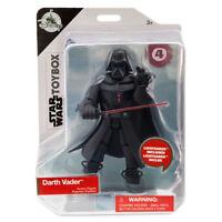 STAR WARS TOYBOX •  DISNEY Darth Vader Action Figure FIGURINE Toy SEALED BOX