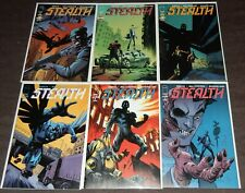 STEALTH Complete 6-Issue Set by Mike Costa