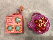 LOT OF 2  Littlest Pet Shop Teeniest Tiniest Teensies Pop Up Mini Playset Lot#5