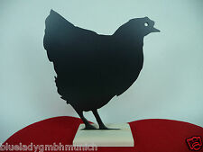Kreidetafel HUHN 22x22cm ● Chicken ● Blackboard ● Tableau Poulet