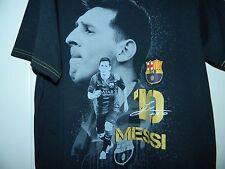 Men's Fcb Messi Athletic Top Size Large