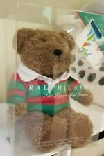 Ralph Lauren Polo Bear w/red and green rugby shirt- New in Box