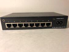 MIL-S800i-V2 Transition Networks Milan Ethernet Hub 10/100 MBPS 8-Port Switch.