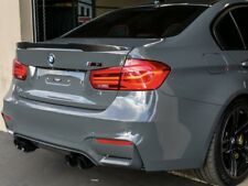 BMW 3 Series Carbon Fibre Spoiler to fit 2014 + F80 M3 Trunk Boot Lid F30