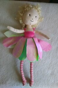 Jellycat London Lizzie Flutter Fairy Stuffed Animal Doll Toy Plush Wild Hair