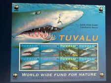 Tuvalu 2000 Sharks Sheet UM (MNH)