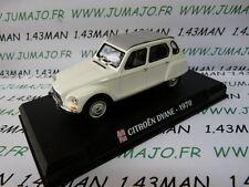 voiture 1/43 AUTOPLUS IXO : CITROËN Dyane 1970 blanche