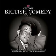 Vintage British Comedy Vol 5 CD New & Sealed Coward Wilton Kenney Watson etc