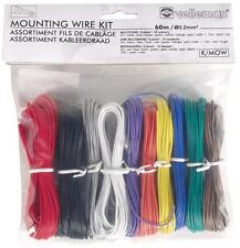 WIRE KIT 8X5M 2X10M 24AWG MULTICORE