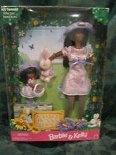 Mattel Barbie & Kelly Doll Easter Bunny Fun Gift Set 1998 Aa