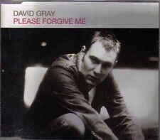 David Gray-Please Forgive Me Promo cd single