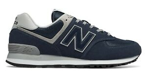 NEW BALANCE 574 Classic Scarpe Uomo Sneakers Suede Textile NAVY ML574EGN
