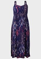 New Ladies Faded Glory Thick Strap Maxi Dress Sizes  24 26