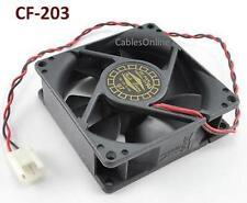 2-Pin 80mm CPU Case / Power Supply Sleeve Bearing Cooling Fan - CF-203