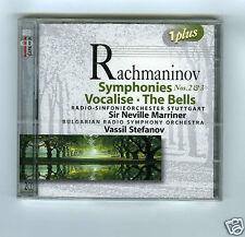 2 CD NEW RACHMANINOV SYMPHONIES 2 & 3 VOCALISE THE BELLS MARRINER