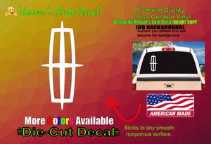 Emblem Car Lincoln Truck SUV Car Window Vinyl Decal Bumper Sticker Navigator