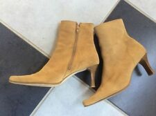Suede Slim Heel Solid Boots for Women